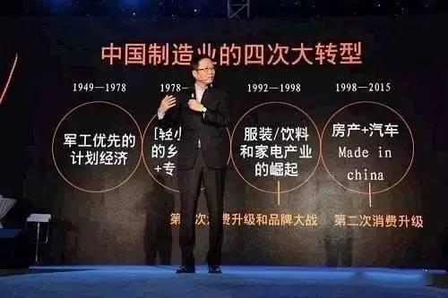 中国制造业的四次大转型